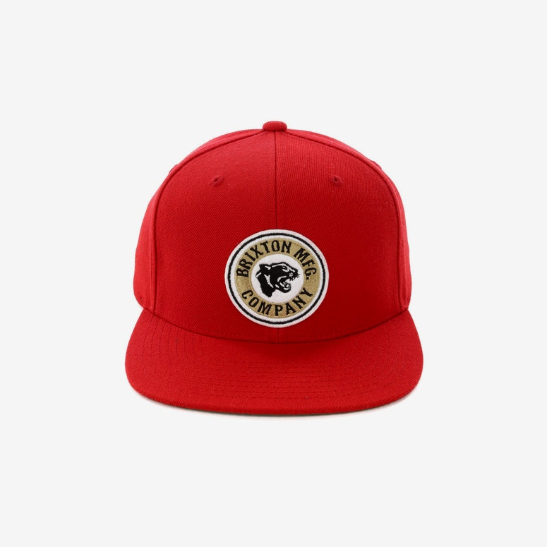 d1a5636e000 Brixton Forte Snapback Red – Culture Kings