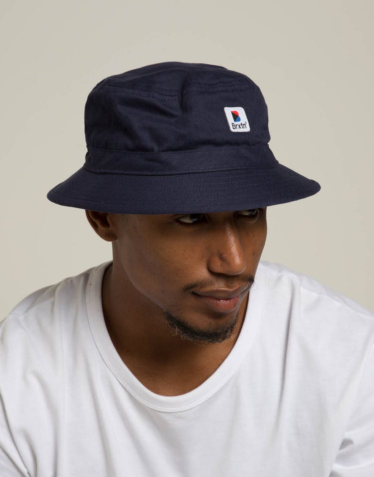 d4ff875a911f5 Brixton Stowell Bucket Hat Navy – Culture Kings