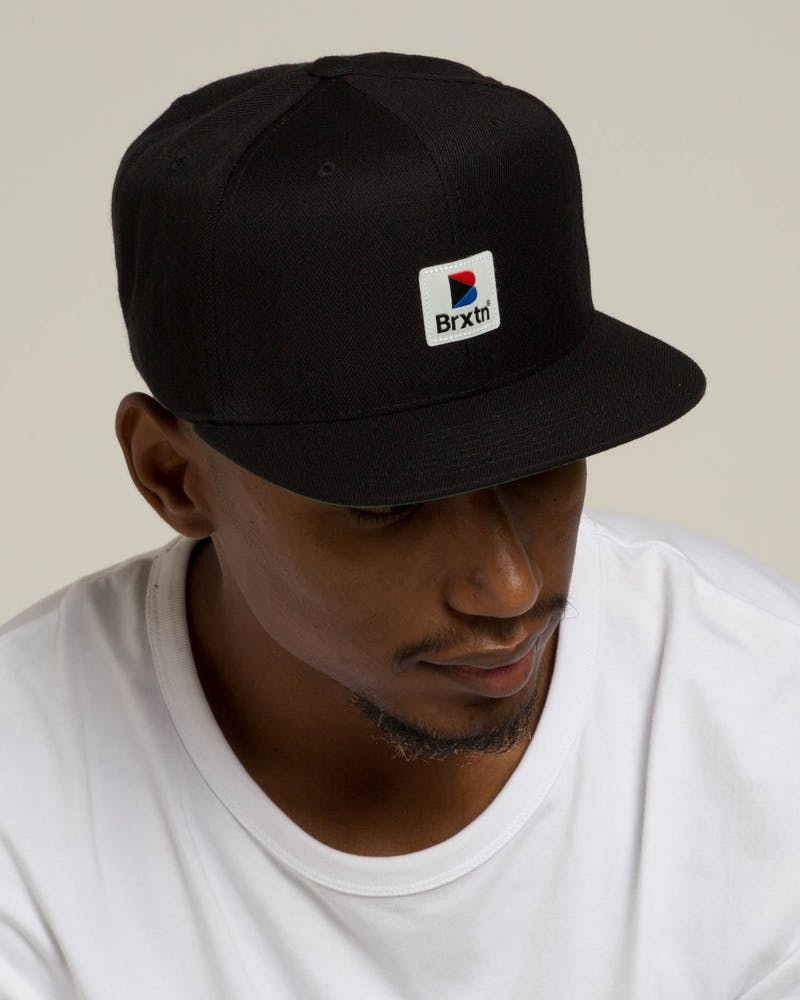 Brixton Stowell MP Snapback Black