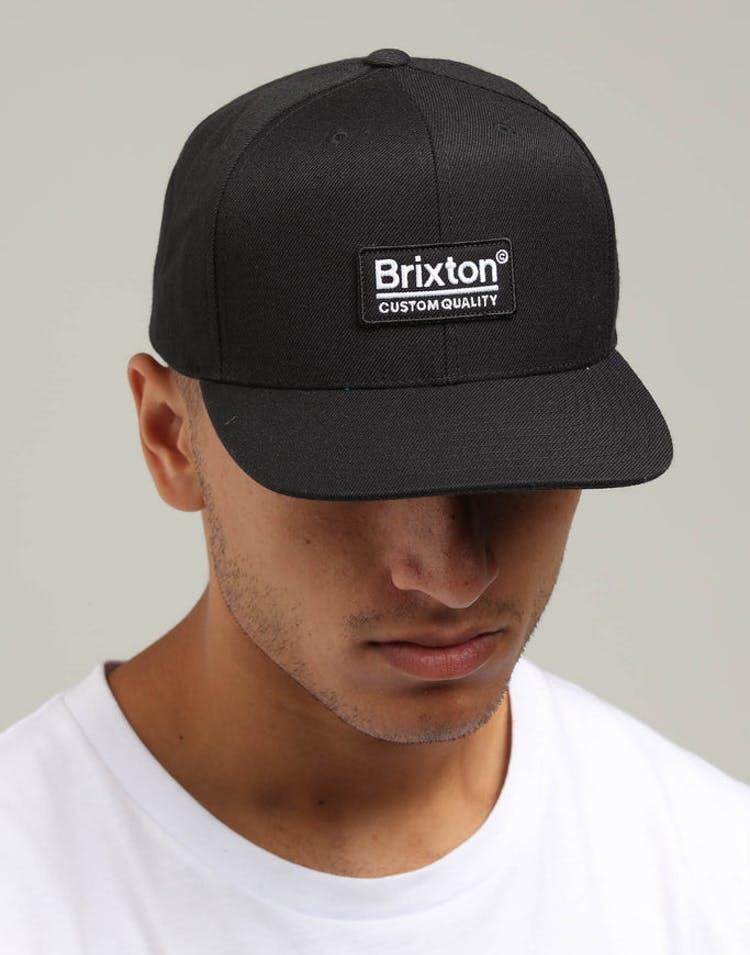 70eb4c27b5 Brixton Palmer II MP Snapback Black – Culture Kings