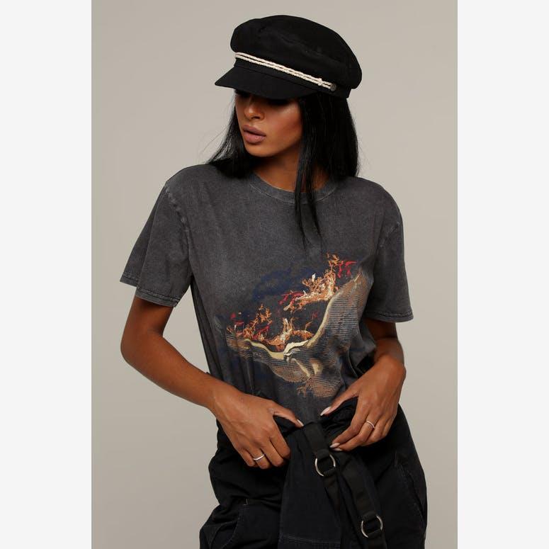 8986d51aaf1 Brixton Women s Ashland Cap Black Off White – Culture Kings