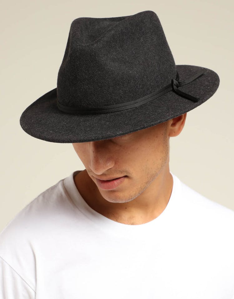fe6c3dd2 Brixton Coleman Fedora Black – Culture Kings