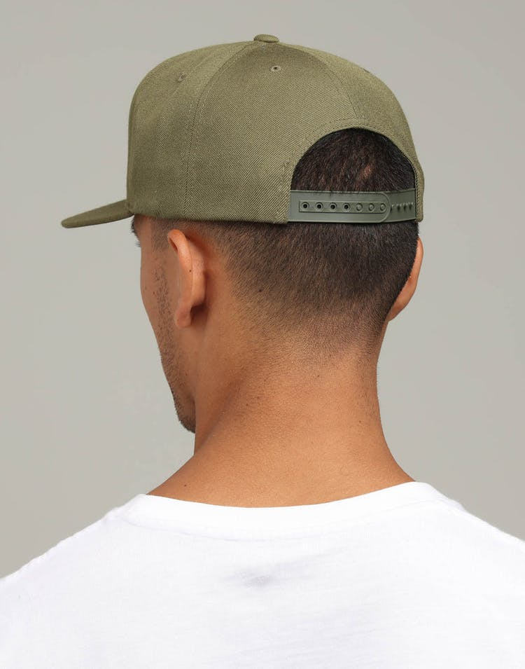 0efb54db Brixton Palmer II MP Snapback Olive – Culture Kings