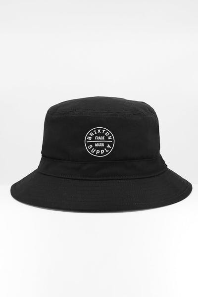 Brixton Oath Bucket Hat Black