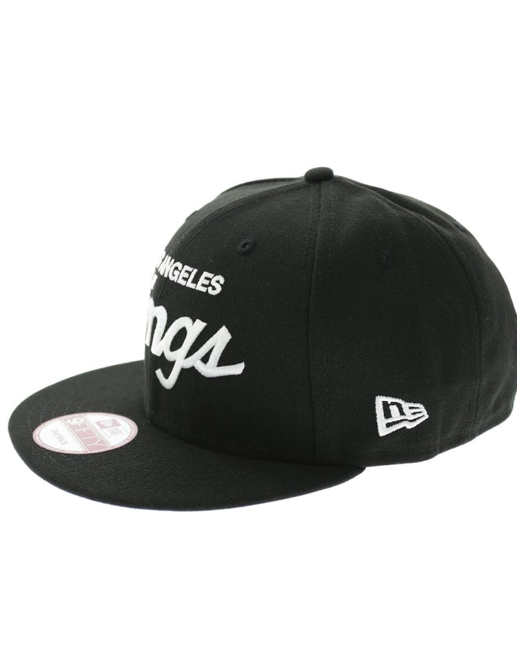 big sale d1e1f da654 New Era Kings 9FIFTY Snapback - Black