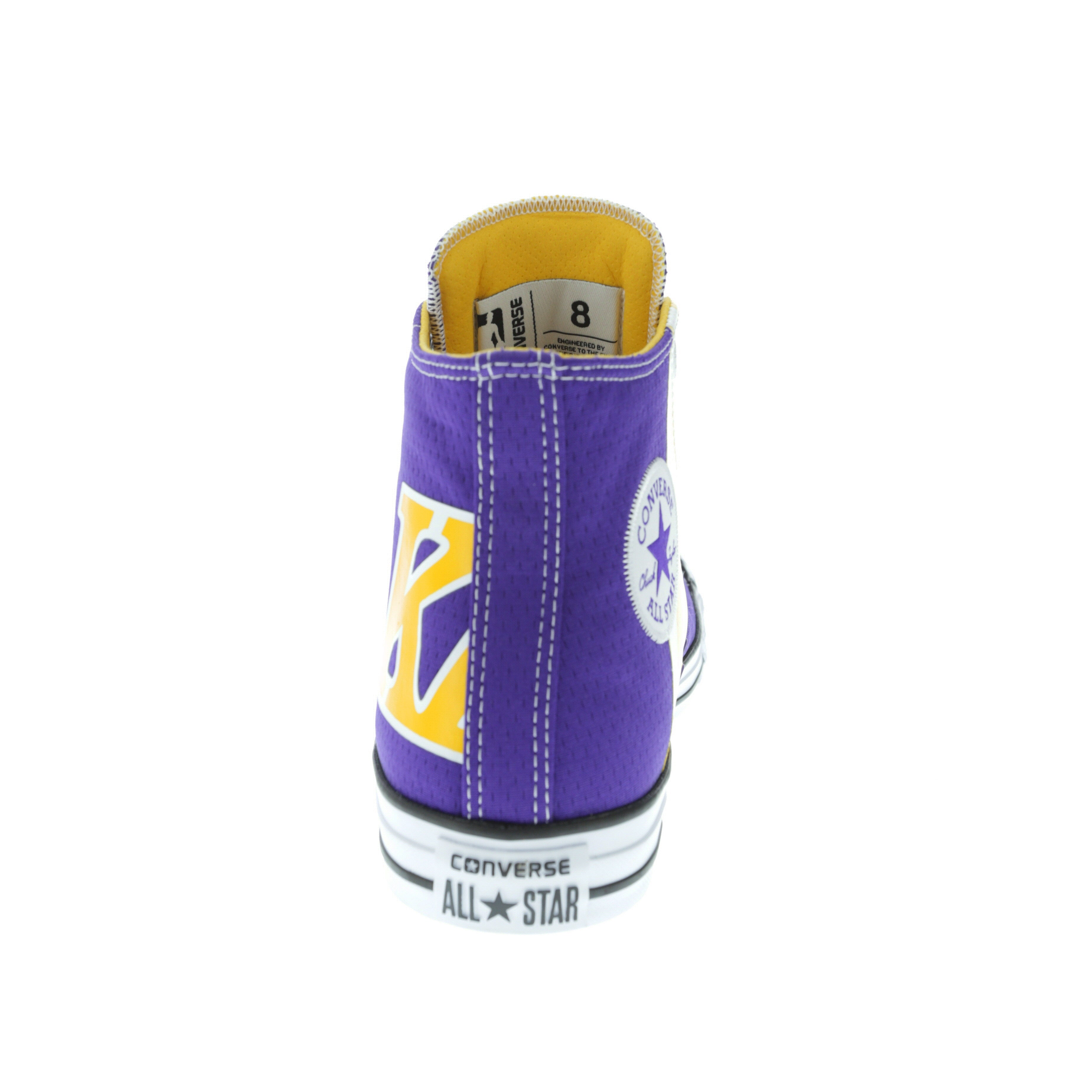 Converse X NBA Chuck Taylor All Star Hi Los Angeles Lakers Purple