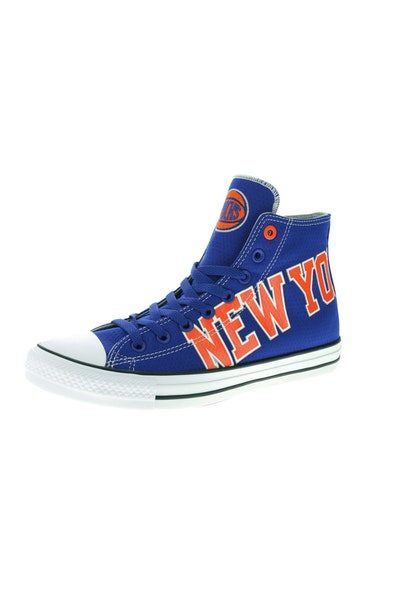 Converse X NBA Chuck Taylor All Star Hi New York Knicks Blue