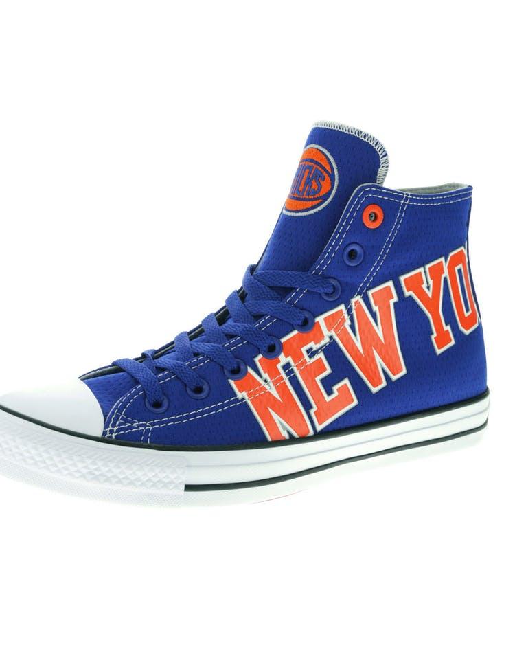 118401ae63fc Converse X NBA Chuck Taylor All Star Hi New York Knicks Blue – Culture Kings