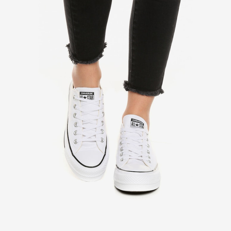 68fb17d1af89b3 Converse Chuck Taylor All Star Lift White Black White