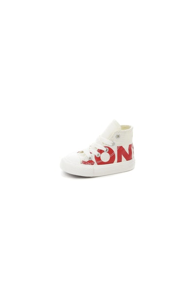 Converse Kids Chuck Taylor All Star Wordmark Off White/Red