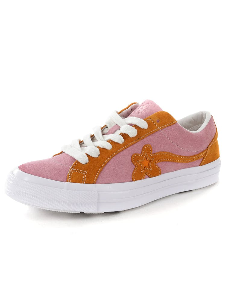 a71c2b83f729eb Converse One Star X Golf Le Fleur  Pink Orange White – Culture Kings