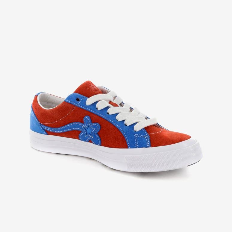 Converse One Star X Golf Le Fleur  Red Blue – Culture Kings 5d6a1f27a