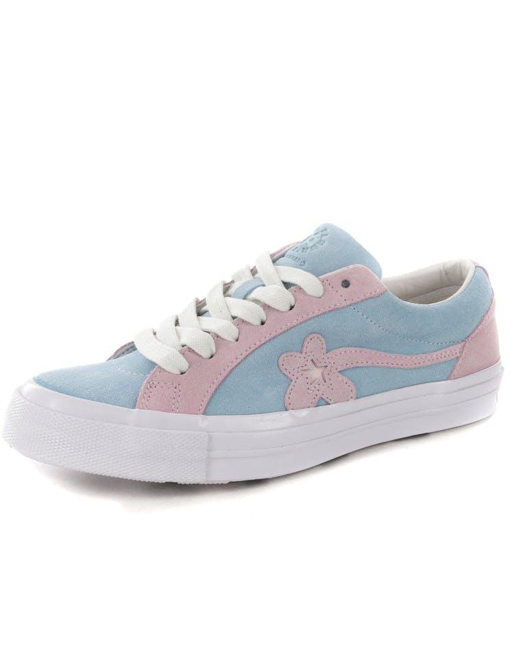 e6abca0250e2 Converse One Star X Golf Le Fleur  Blue Pink – Culture Kings