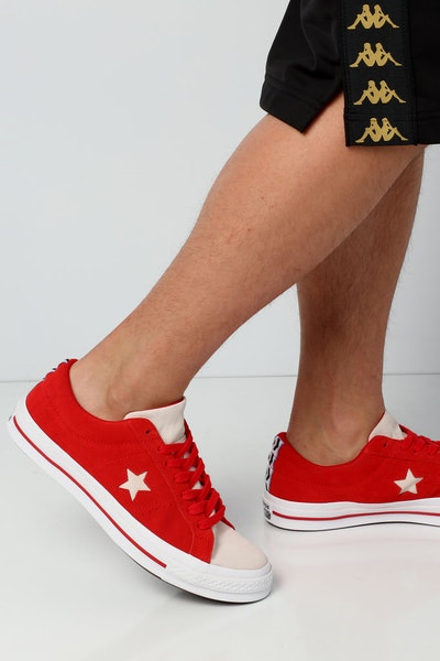 Converse One Star Woven Era Low Red/White