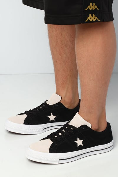 Converse One Star Woven Era Low Black/White
