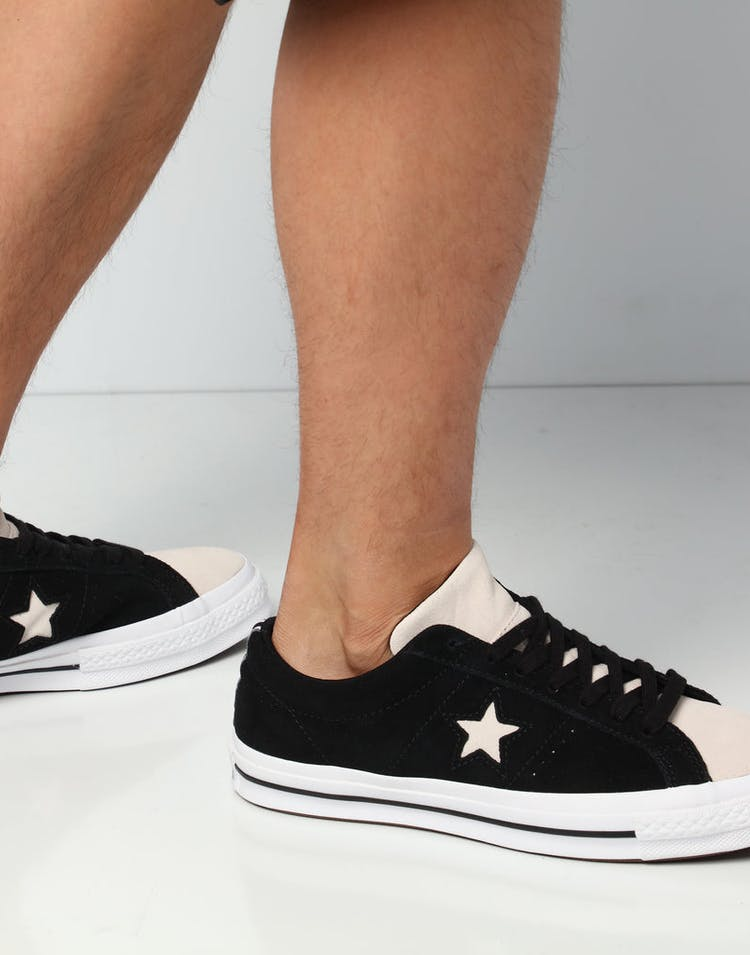 e8ef9536bc6d Converse One Star Woven Era Low Black White – Culture Kings