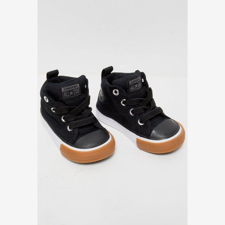 Converse Infant Chuck Taylor Street Black White Gum – Culture Kings 838dbfbea