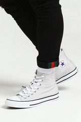 CONVERSE CHUCK TAYLOR ALL STAR HI GREY/WHITE/BLACK