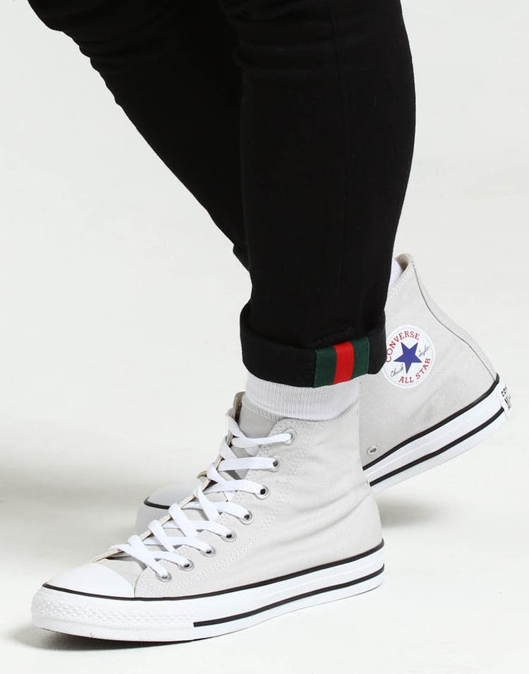a3a63029a3165 Converse Chuck Taylor All Star Hi Grey White Black – Culture Kings