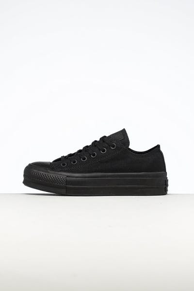 Converse Women's CT Lift Canvas Low Black/Black
