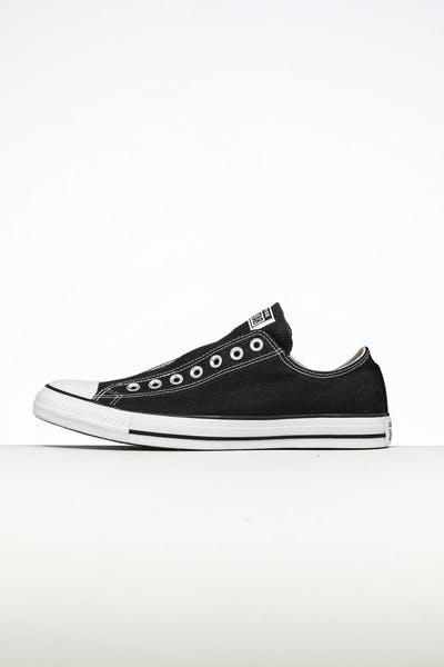 Converse Women's CT Seasonal Slip On Black/White