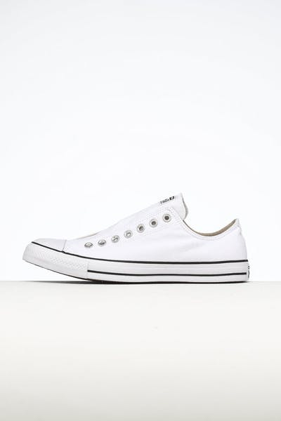 Converse Women's CT Seasonal Slip On White/Black