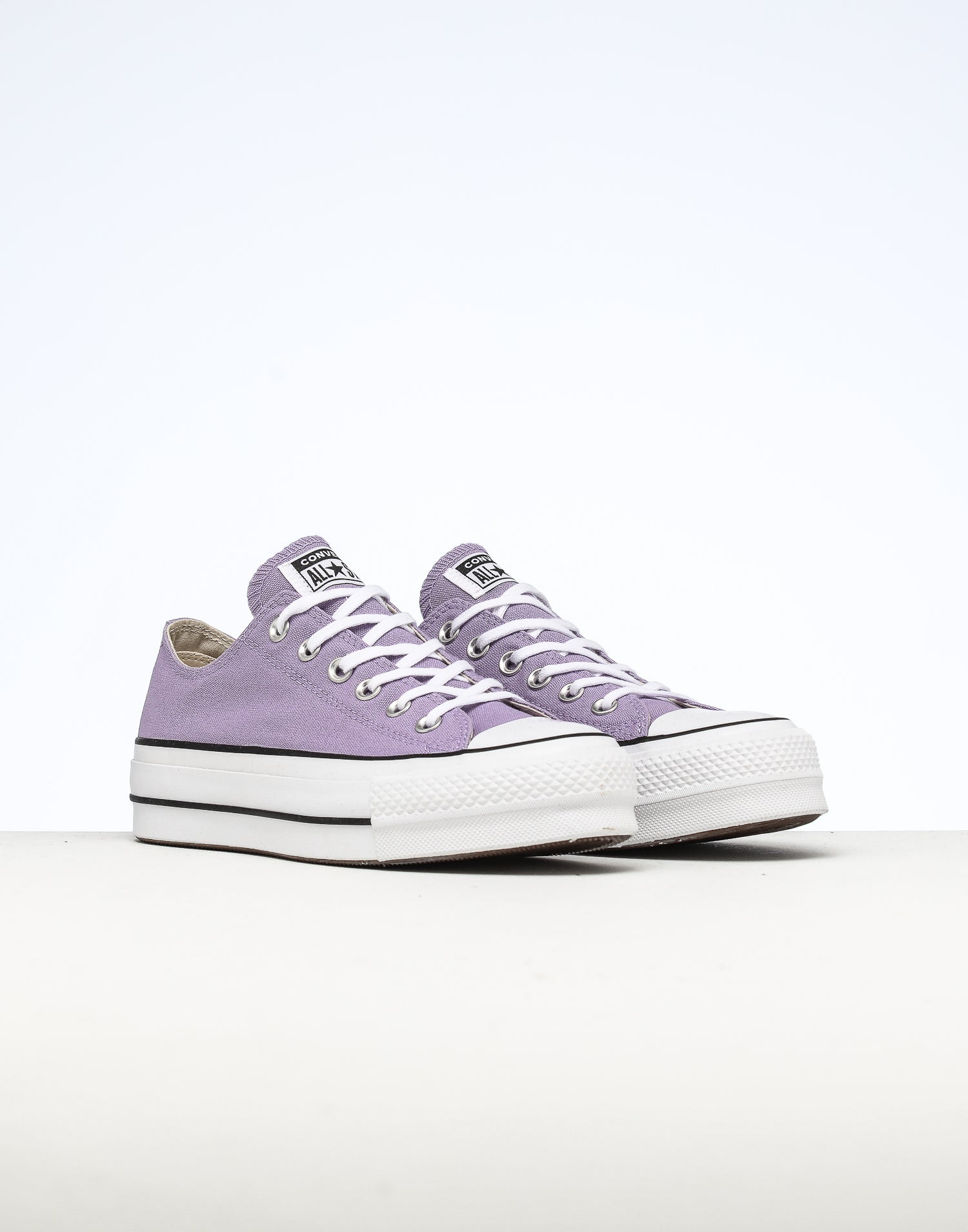 Converse Women's CT Seasonal Lift Low Lilac