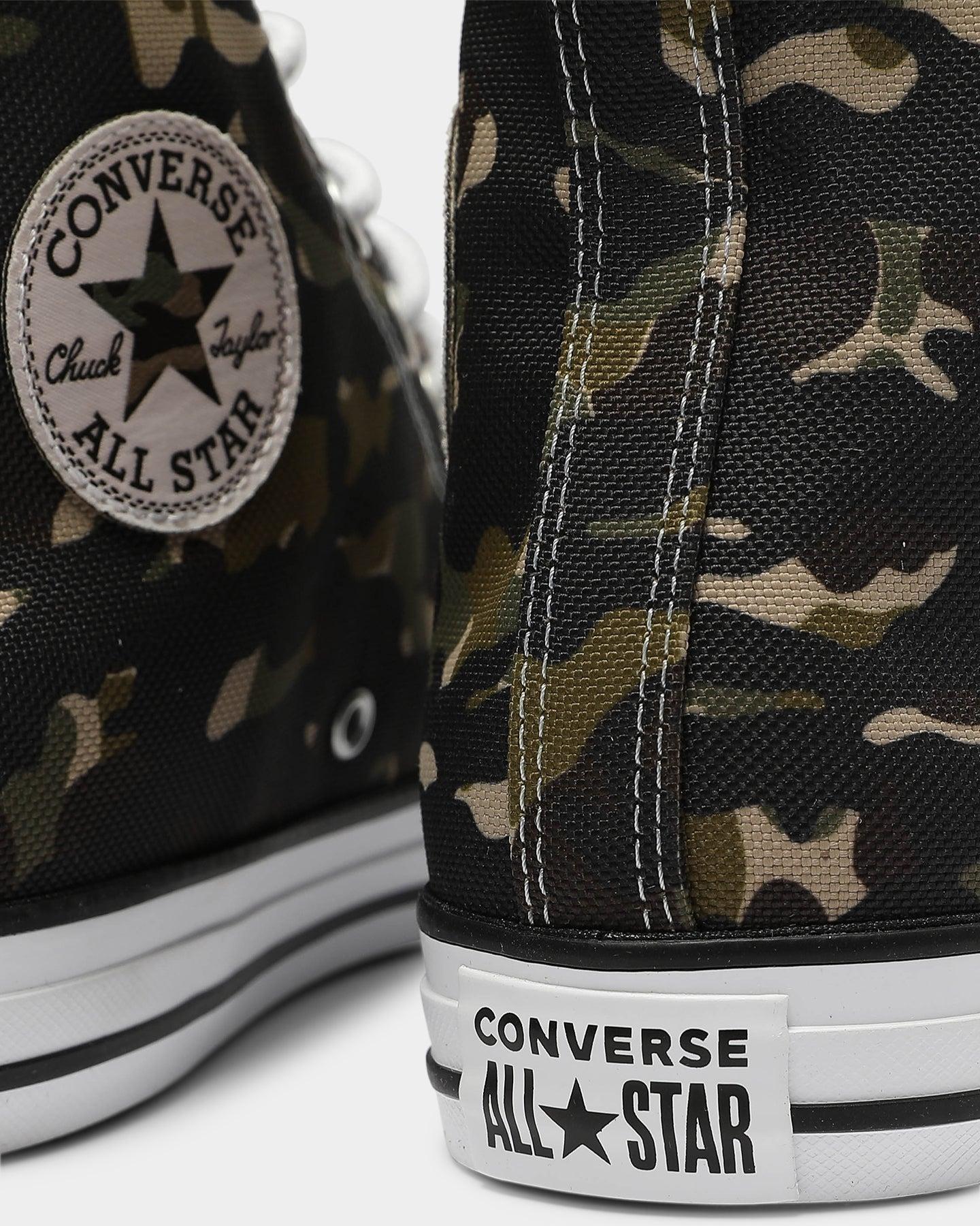 Converse Chuck Taylor All Star Hi Allover Camo BlackKhaki