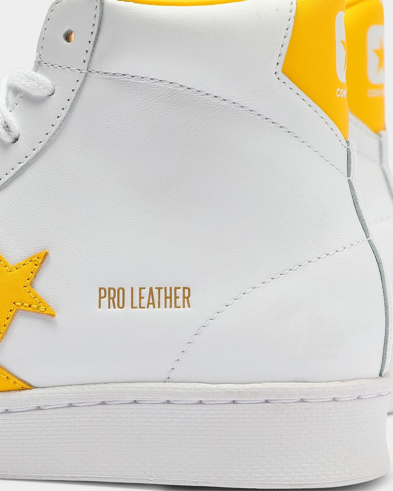 Converse Pro Leather Gold Standard White/Yellow