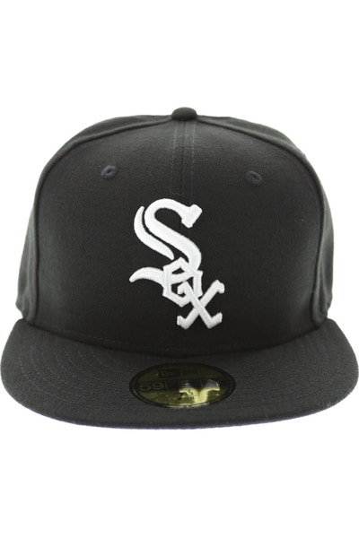 New Era White Sox 5950 AC Fitted