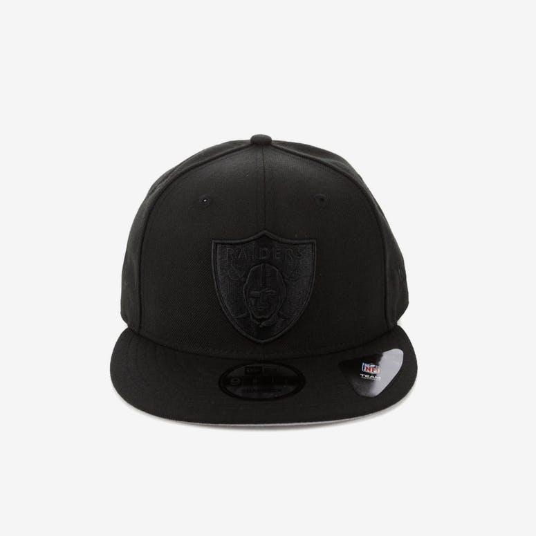 943e673de64 New Era Oakland Raiders 9FIFTY Snapback Black Black – Culture Kings