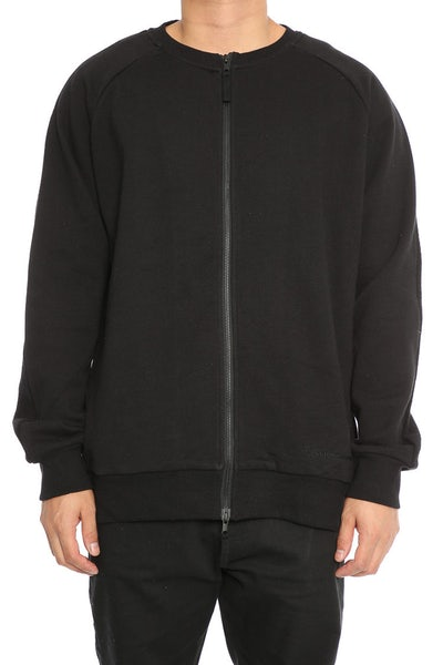 Publish Bayard Zip Crew Black