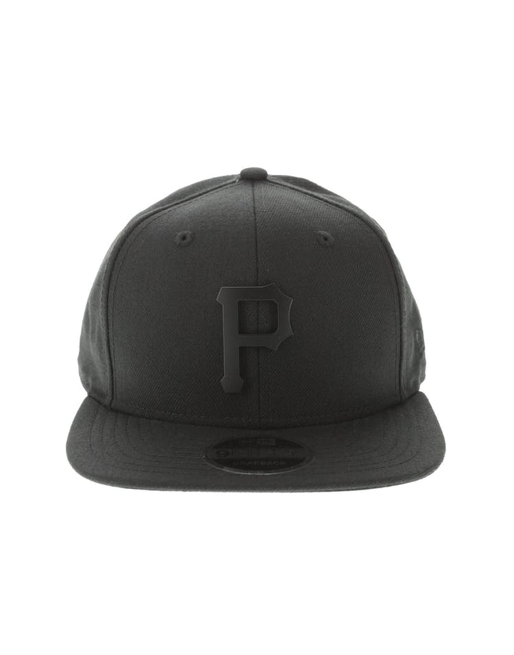 the latest 817a8 f1460 New Era Pittsburgh Pirates Metal 9FIFTY Snapback Black Black – Culture Kings