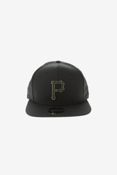 New Era Pittsburgh Pirates Metal 9FIFTY Snapback Black/Gold