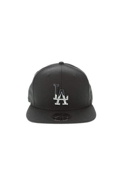 New Era Los Angeles Dodgers Metal 950 Snapback Black/Silver