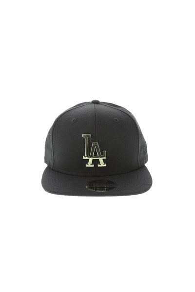 New Era Los Angeles Dodgers Metal 950 Snapback Black/Gold