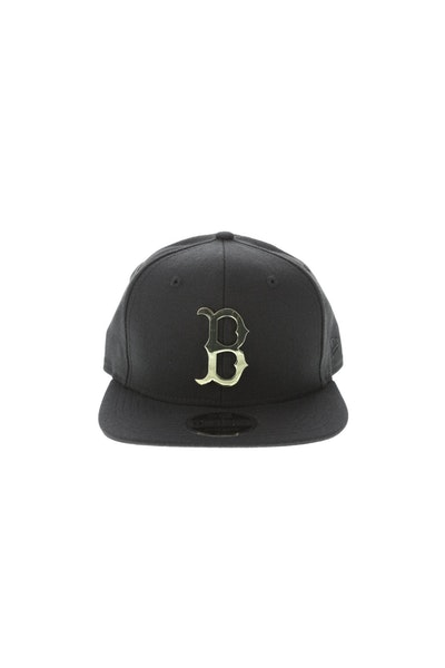 New Era Boston Red Sox Metal 950 Snapback Black/Gold