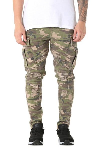 Fairplay James Pant Camo