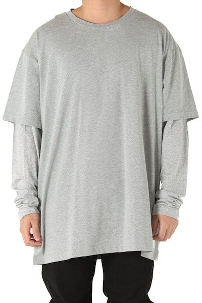 Fairplay Kenyon Long Sleeve Tee Heather Grey