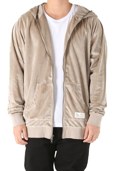 Fairplay Ramzee LS Hooded Zip-Up Cream