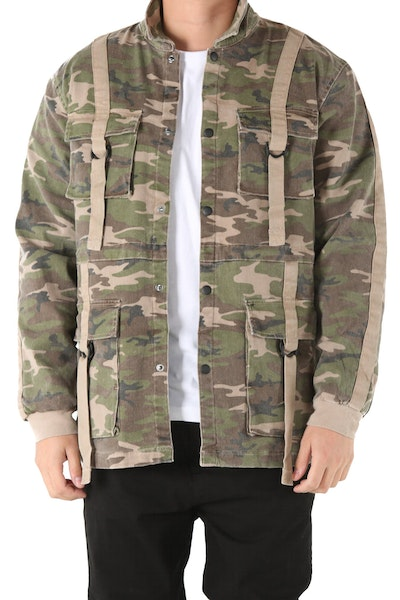 Fairplay Quinton LS Jacket Camo
