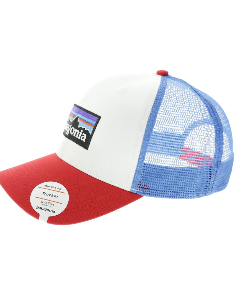 Patagonia P6 Trucker Hat White