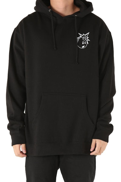 The Hundreds Forever Simple Adam Pullover Black