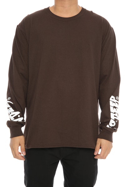 10 Deep Sound and Fury LS Tee Brown
