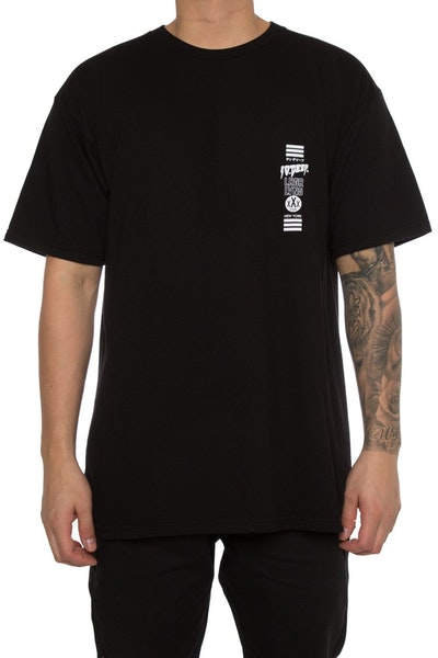 10 Deep Triple Stack 2 Tee Black