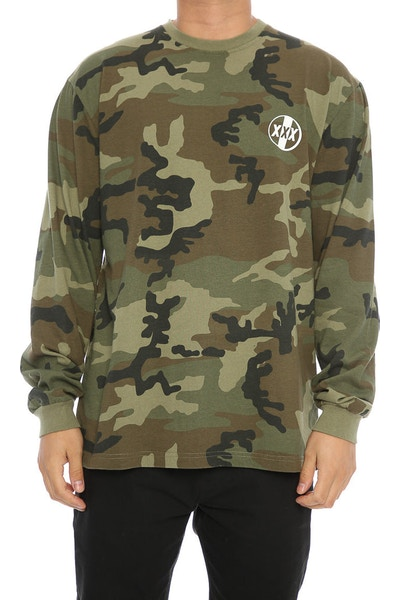 10 Deep Overpass Long Sleeve Tee Camo