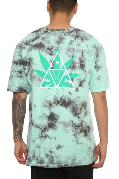 Huf 420 Triple Triangle Tee Smoke Mint