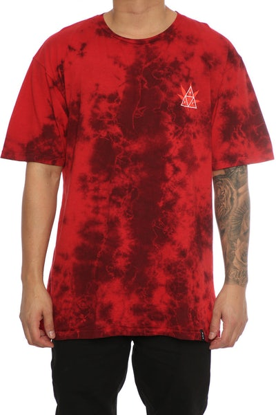 Huf 420 Triple Triangle Tee Smoke Red