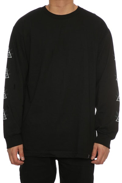 Huf 42 Triple Triangle Long Sleeve Tee Black