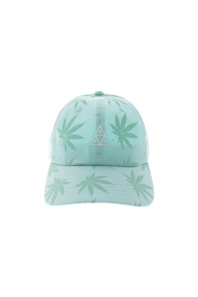Huf 420 Triple Triangle Dad Hat Strapback Mint